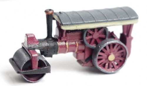 Arch Laser A3D0015 N Gauge Maroon Steam Roller (Painted)